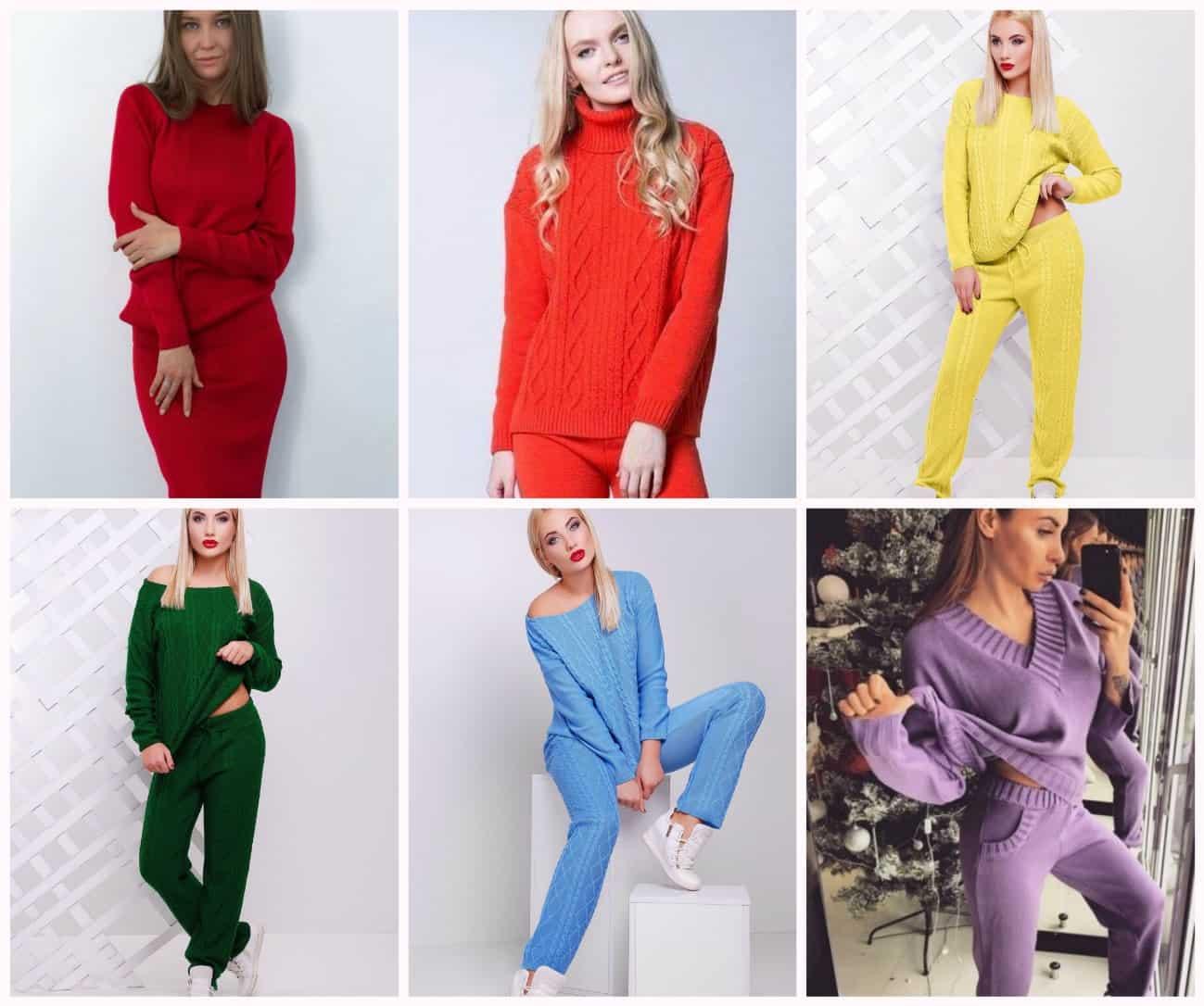 модные костюмы и цвета сезона