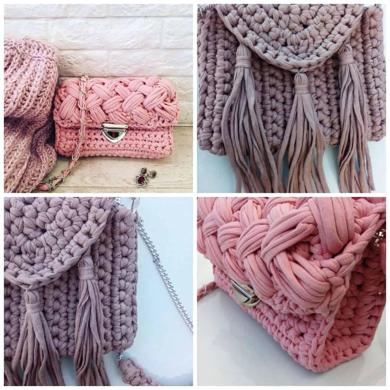 как выбрать вязаную сумку