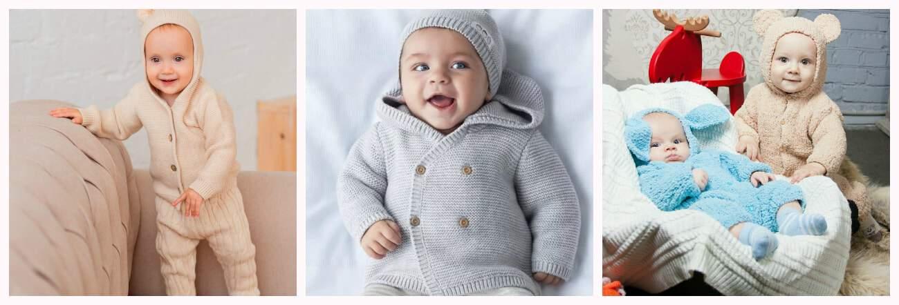 модные детские вязаные вещи