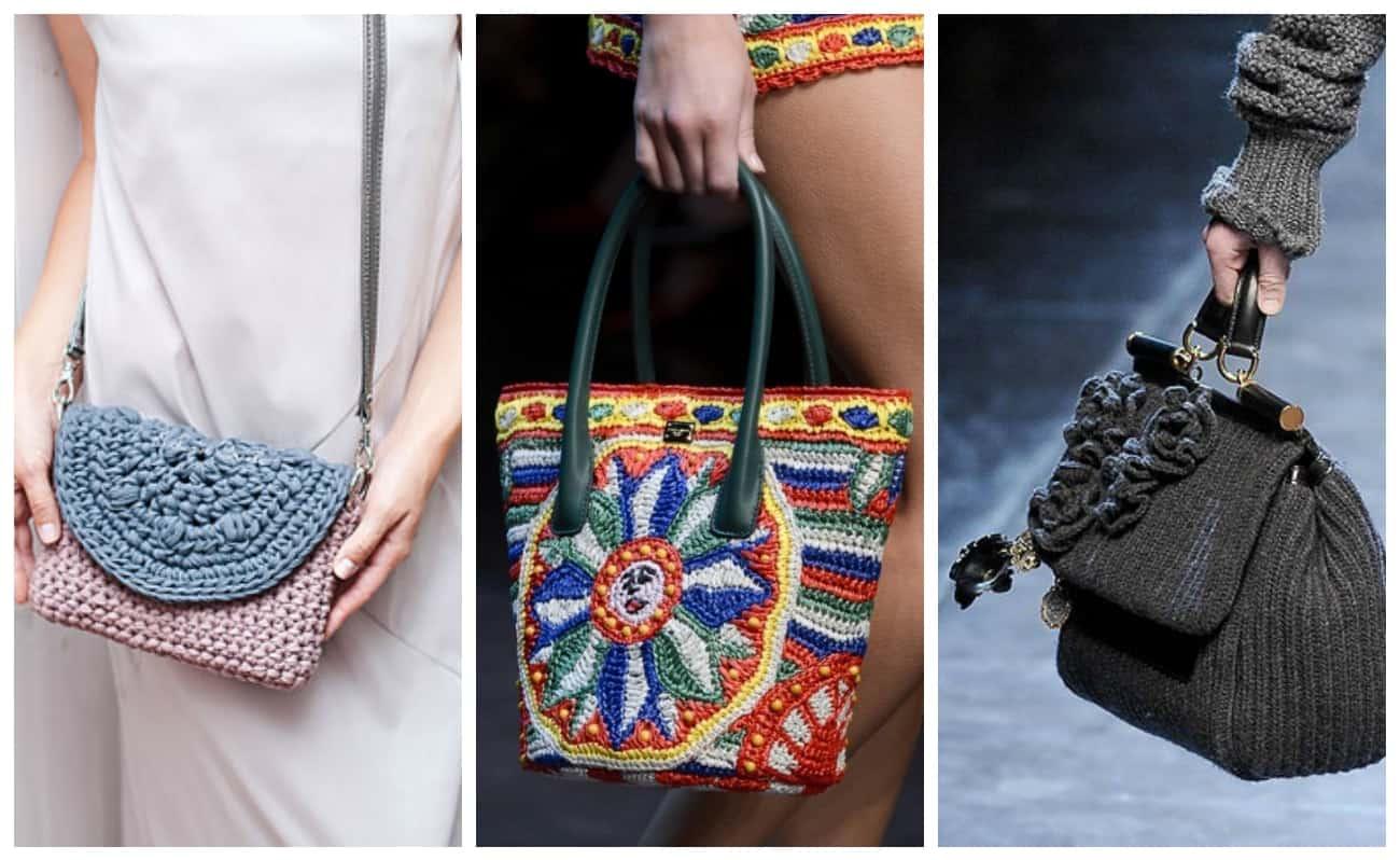модные сумки на подиуме