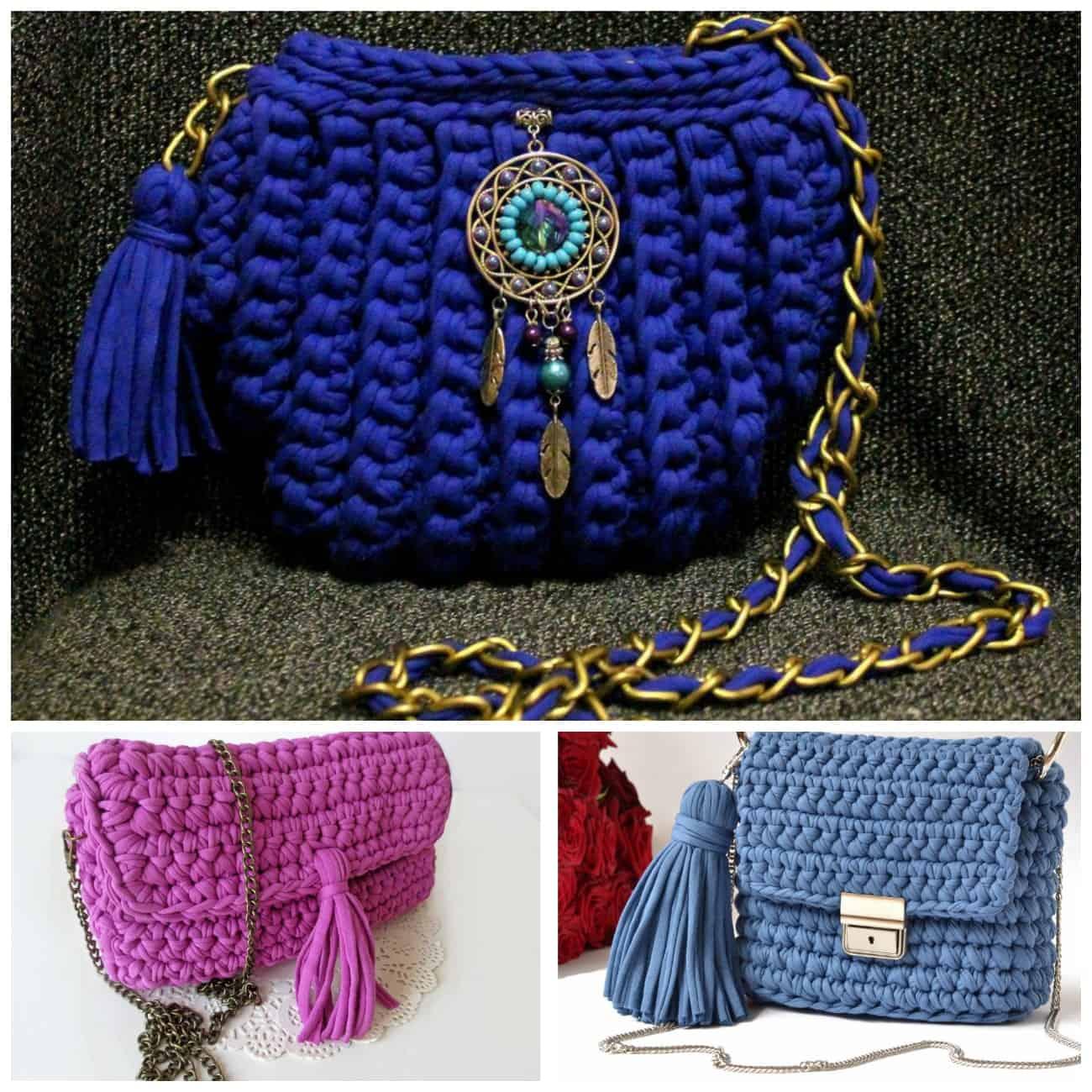 вязаные сумки тенденции в моде