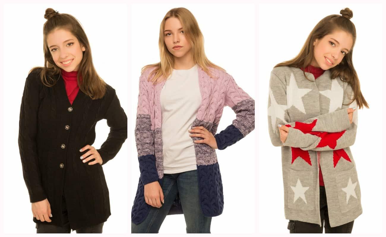 вязаная одежда для подростков в интернет магазине