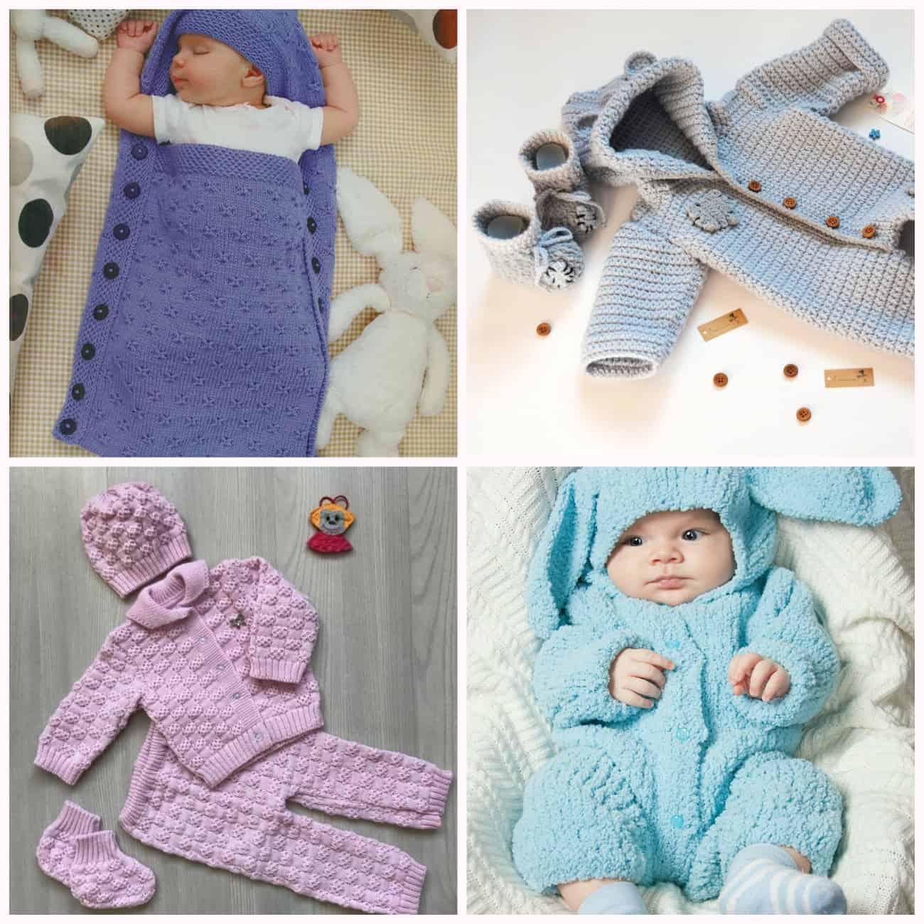 купить вязаную одежду для новорожденных