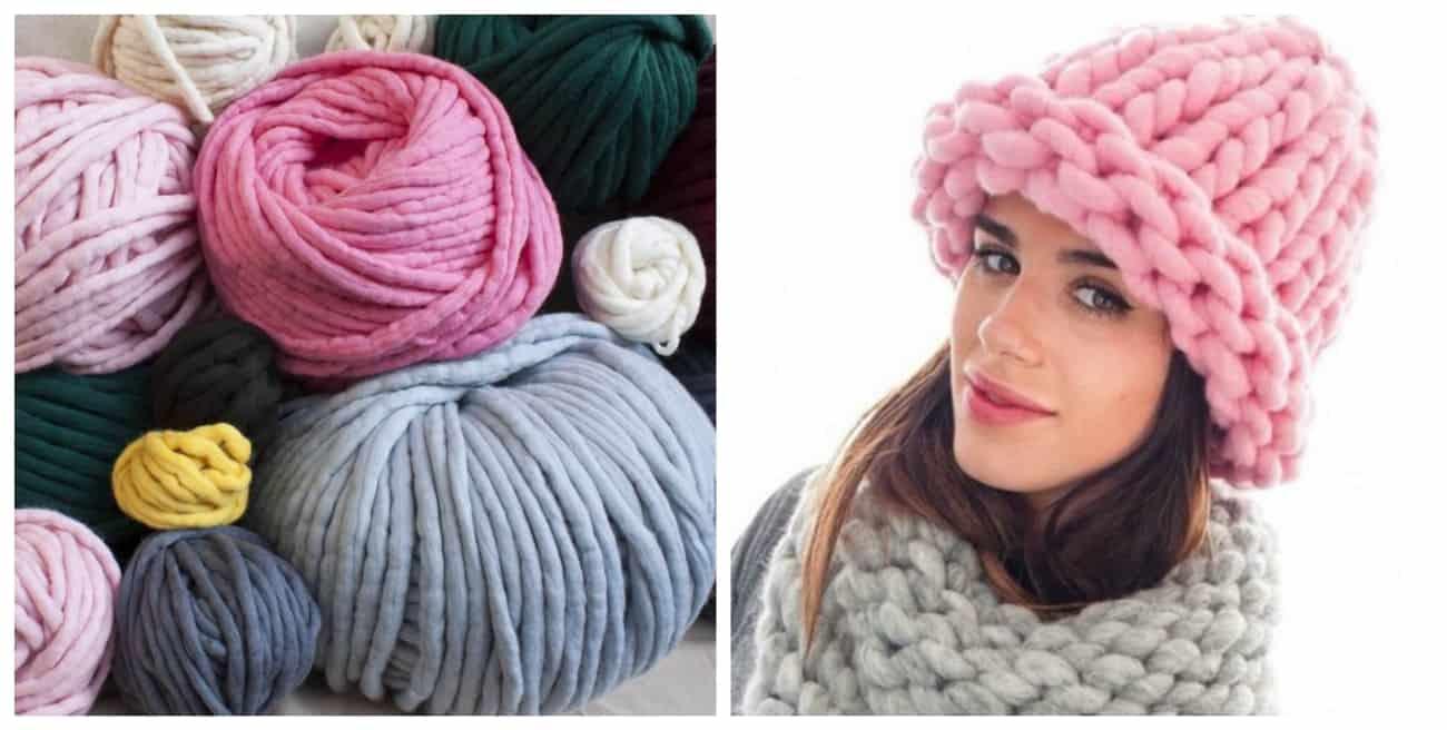 шерстяные шапки для женщин