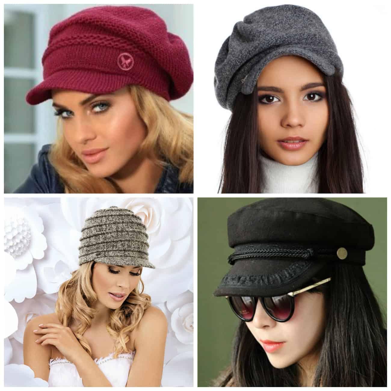 обзор вязаных шапок