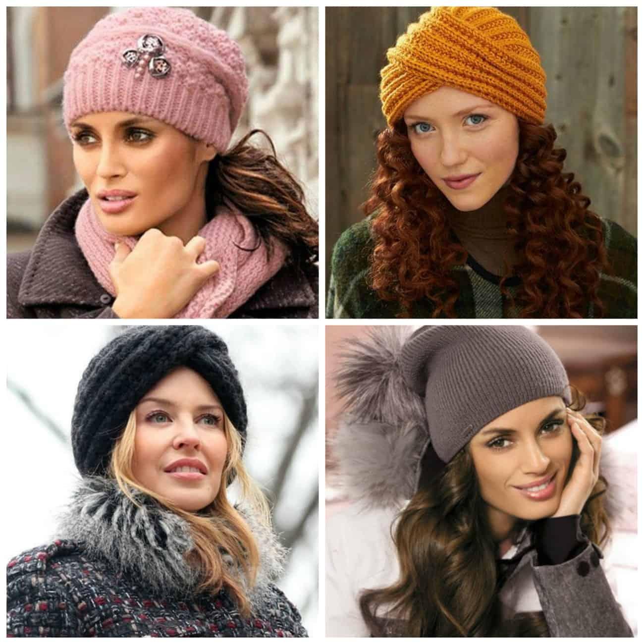 модные женские шапки фото