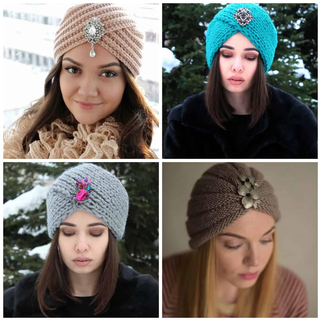 купить шапку чалму тренд сезона