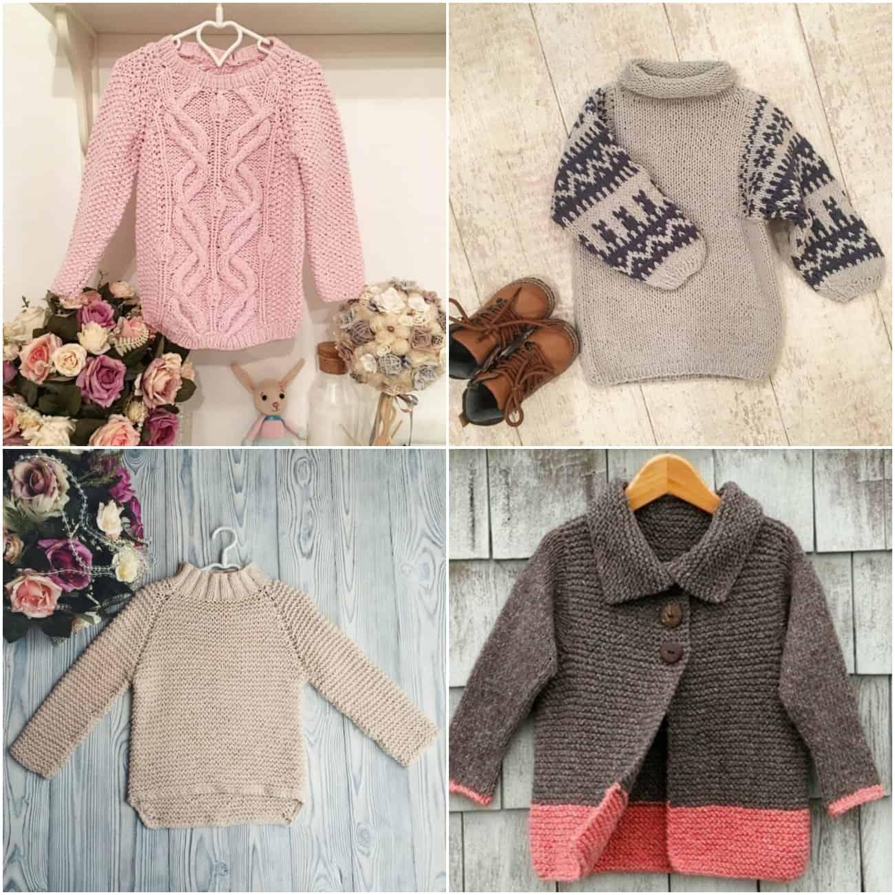 выбрать модный детский свитер