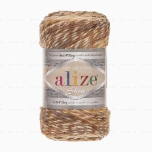 На фотографии изображена пряжа Show Punto Batik Design Alize - Шоу Пунто Батик Дизайн Ализе в интернет-магазине ShaparBrand.ru