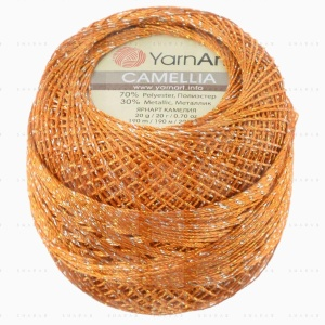 На фотографии изображена пряжа YarnArt Camellia - ЯрнАрт Камелия в интернет-магазине ShaparBrand.ru