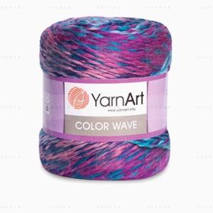 На фотографии изображена пряжа YarnArt Color Wave - ЯрнАрт Колор Вейв в интернет-магазине ShaparBrand.ru